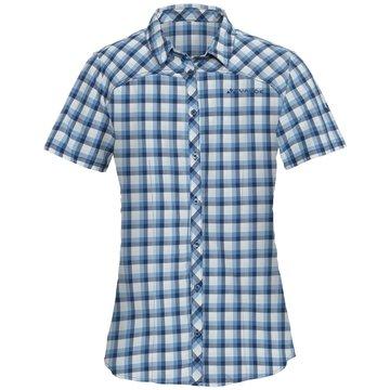 VAUDE KurzarmblusenWomen's Tacun Shirt blau