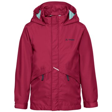 VAUDE RegenjackenKIDS ESCAPE LIGHT JACKET III - 40973 rot