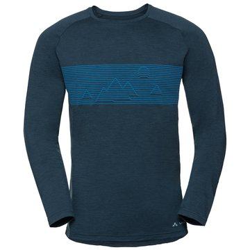 VAUDE Shirts & TopsMEN'S BASE LS SHIRT - 41222 blau