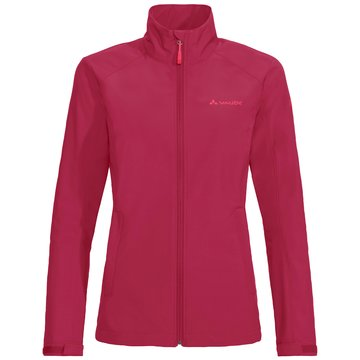 VAUDE SoftshelljackenWomen's Hurricane Jacket IV pink