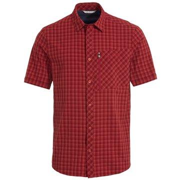 VAUDE KurzarmhemdenMen's Seiland Shirt II rot