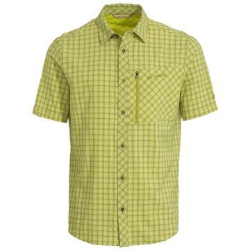 VAUDE KurzarmhemdenMen's Seiland Shirt II grün