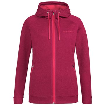 VAUDE FleecejackenWOMEN'S SKOMER FLEECE JACKET - 41412 rot