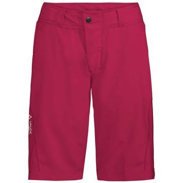 VAUDE BikeshortsWomen's Ledro Shorts rot