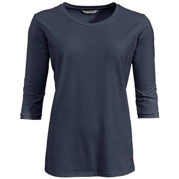 VAUDE LangarmshirtWomen's Skomer 3/4 T-Shirt blau