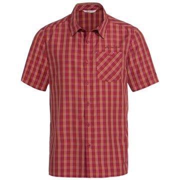 VAUDE KurzarmhemdenMen's Albsteig Shirt II rot