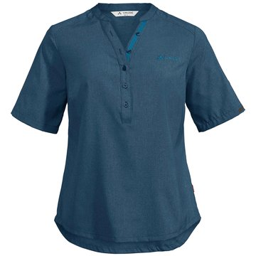 VAUDE KurzarmblusenWomen's Turifo Shirt II blau