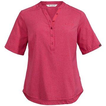 VAUDE KurzarmblusenWomen's Turifo Shirt II rot