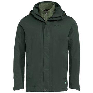 VAUDE FunktionsjackenMen's Rosemoor 3in1 Jacket grün