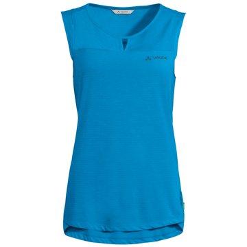 VAUDE Sport-BHsWomen's Skomer Hiking Top blau