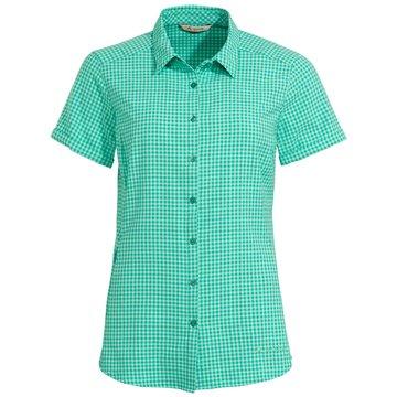 VAUDE KurzarmblusenWomen's Seiland Shirt III türkis
