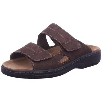 Solid Komfort Schuh braun