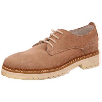 SPM Shoes & Boots Schnürschuh rosa