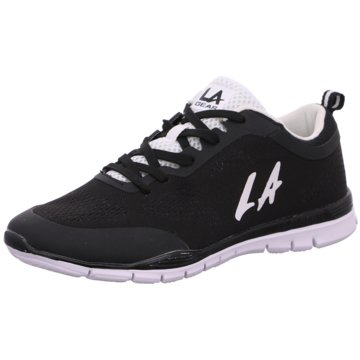 L.A. Gear Sneaker Low schwarz