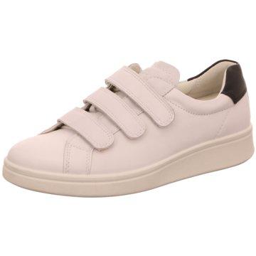 Ecco Sneaker LowSoft 4 weiß