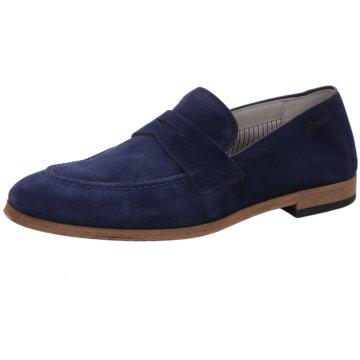 Sioux Klassischer Slipper blau