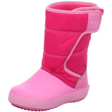CROCS GummistiefelLdgPtSnowBtK pink
