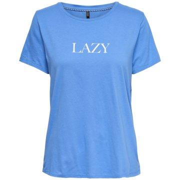 Only T-Shirts blau