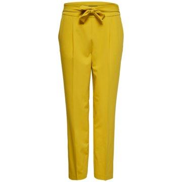 Only Stoffhosen gelb