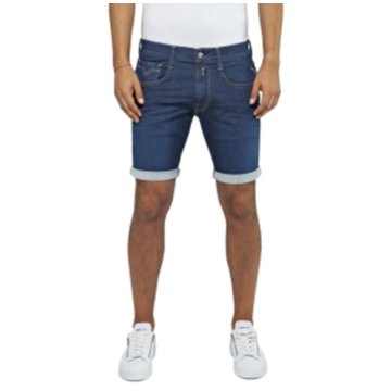 Replay Jeans Shorts blau