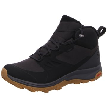 Salomon WinterbootSchuhe OUTsnap CSWP Black/Ebony/GUM schwarz