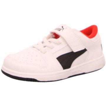 Puma Sneaker Low REBOUND LAYUP LO SL V - 370493 weiß