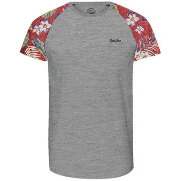 Jack & Jones T-Shirts print grau