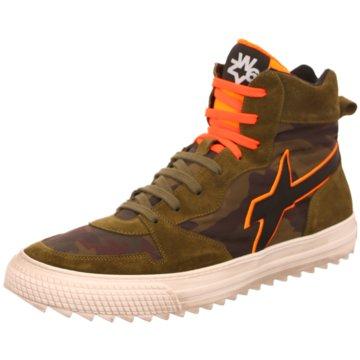 W6YZ Sneaker High oliv