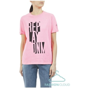 Replay T-Shirts rosa