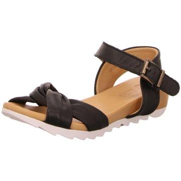 MACA Kitzbühel Sandale schwarz