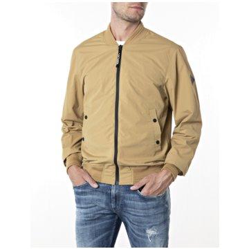 Replay Leichte Jacken beige