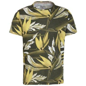 Blend shoes T-Shirts print oliv