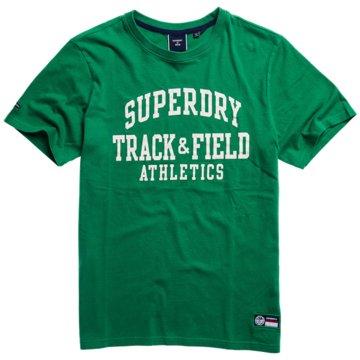 Superdry T-Shirts print grün