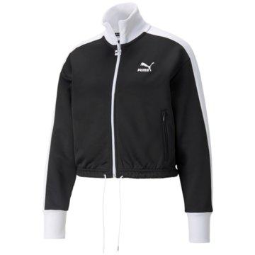 Puma SweatshirtsICONIC T7 CROP JACKET PT - 531623 schwarz