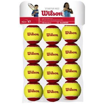 Wilson TennisbälleSTARTER RED TBALL 12 PACK - WRT137100 gelb