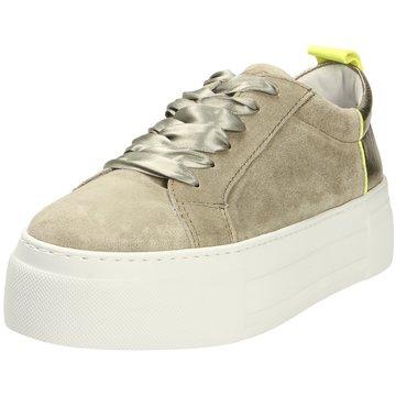 Alpe Woman Shoes Plateau Sneaker grün