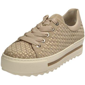 Gabor comfort Plateau Sneaker beige