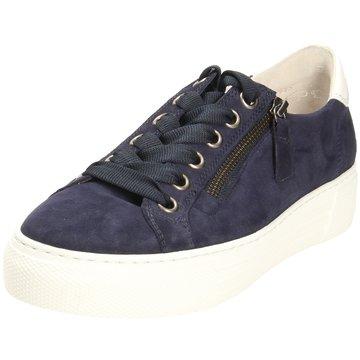 Gabor comfort Plateau Sneaker blau