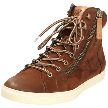 Paul Green Sneaker High4675 braun