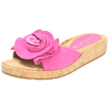 Unisa Klassische Pantolette pink
