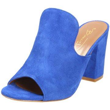 962e8aad867768 Bianca Di Klassische Pantolette blau