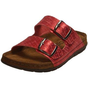 Rohde Klassische Pantolette rot