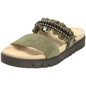 Gabor Komfort Pantolette grün