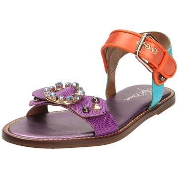 Alpe Woman Shoes Sandale lila