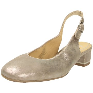 ara Sling Ballerina gold