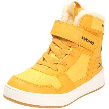 Viking Winterstiefel gelb