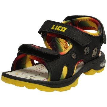 Brütting Offene Schuhe schwarz