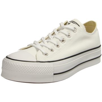 Converse Plateau Sneaker weiß