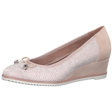Tamaris Damen Keil Pumps, rose glitzer
