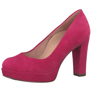 Tamaris Plateau Pumps pink